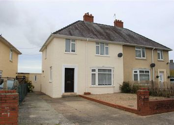 Thumbnail 3 bed semi-detached house for sale in St. Annes Crescent, Pembroke