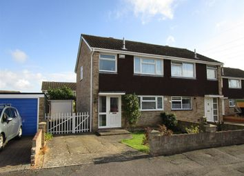 Thumbnail 3 bed semi-detached house for sale in Itchen Close, Bedford