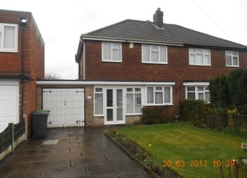 Thumbnail 3 bed semi-detached house to rent in Long Mill South, Wednesfield, Wolverhampton
