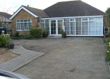 Thumbnail 2 bed detached bungalow for sale in Mumby Road, Huttoft, Alford