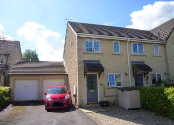 Thumbnail 2 bedroom semi-detached house to rent in Nightingale Road, Trowbridge