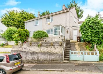 Thumbnail 2 bedroom semi-detached house for sale in Kit Hill Crescent, St Budeaux, Plymouth