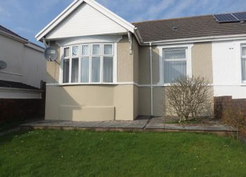 Thumbnail 2 bed semi-detached bungalow for sale in Caswell Street, Llanelli