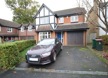 Thumbnail Detached house for sale in Wincanton Close, Crawley