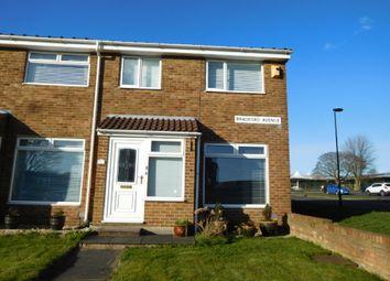 Thumbnail 3 bed terraced house to rent in Bradford Ave, Battlehill, Wallsend.