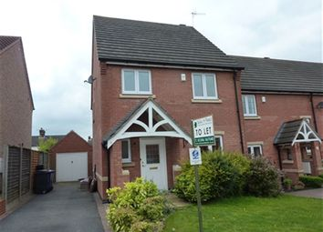 Thumbnail 3 bed property to rent in Knighton Close, Hasland, Chesterfield, Derbyshire