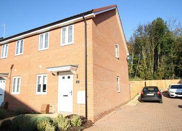 Thumbnail 2 bed end terrace house for sale in Kiln Close, Gt Blakenham, Ipswich, Suffolk
