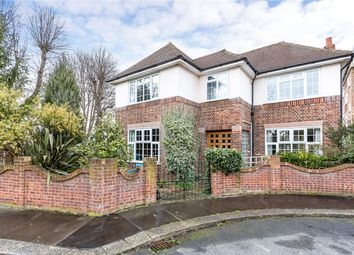 Thumbnail 3 bed detached house for sale in Forsyte Crescent, London