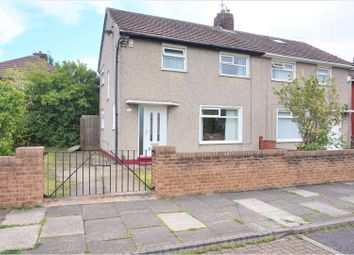 Thumbnail 3 bedroom semi-detached house for sale in Melsonby Avenue, Middlesbrough