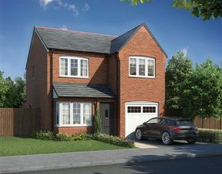 Thumbnail 3 bed semi-detached house for sale in Collingwood Manor, Loansdean, Morpeth