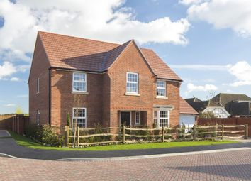 "Thumbnail 4 bedroom detached house for sale in ""Winstone"" at The Lane, Lidlington, Bedford"