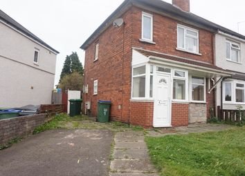 Thumbnail 2 bed semi-detached house for sale in Sycamore Road, Tipton
