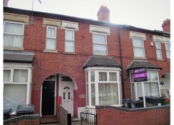 Thumbnail 3 bedroom terraced house for sale in Parkfield Road, Birmingham