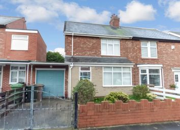 Thumbnail 2 bedroom semi-detached house for sale in Greenhaugh Road, South Wellfield, Whitley Bay