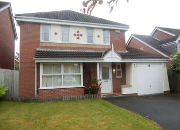 Thumbnail 4 bed detached house to rent in Murby Way, Thorpe Astley, Leicester