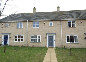 Thumbnail 3 bedroom terraced house for sale in Ryefield Road, Mulbarton, Norwich