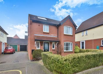 Thumbnail 3 bed detached house for sale in Vane Close, Thorpe St. Andrew, Norwich