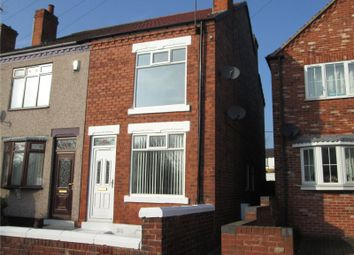 Thumbnail 2 bed semi-detached house for sale in Mitchell Street, Clowne, Chesterfield, Derbyshire