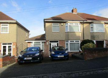Thumbnail 3 bed semi-detached house for sale in Church Hill, Brislington, Bristol