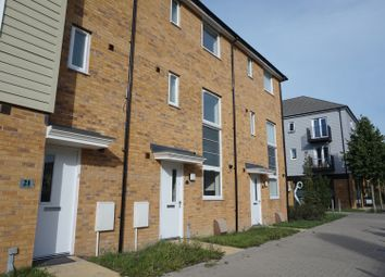 Thumbnail 4 bed town house to rent in Quartz Way, Sittingbourne