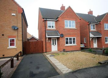 Thumbnail 3 bed detached house for sale in Mitchell Drive, Spalding