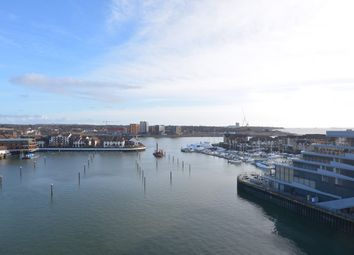 Thumbnail 2 bedroom flat to rent in Alexander Wharf, Ocean Village, Southampton, Hampshire