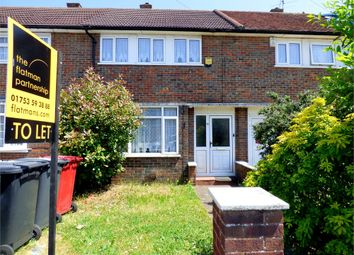 Thumbnail 3 bed terraced house to rent in Trelawney Avenue, Langley, Berkshire