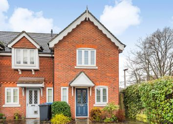 Thumbnail 2 bed end terrace house for sale in Woodside, New Haw, Addlestone
