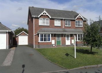 Thumbnail 3 bed semi-detached house to rent in Orchard Green, Llanymynech