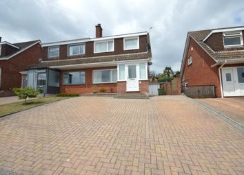 Thumbnail 3 bed semi-detached house for sale in Barley Farm Road, Exeter, Devon