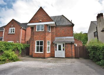 Thumbnail 4 bed detached house for sale in Meadow Lane, Coalville