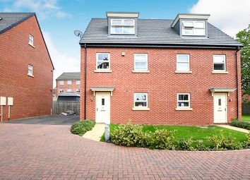 Thumbnail 3 bed semi-detached house for sale in Stockwell Drive, Mackworth, Derby