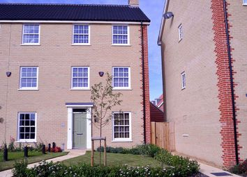 Thumbnail 4 bed town house for sale in Sprowston, Norwich, Norfolk