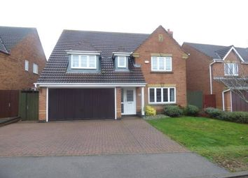 Thumbnail 4 bed detached house for sale in Portwey Close, Brixworth, Northampton, Northamptonshire