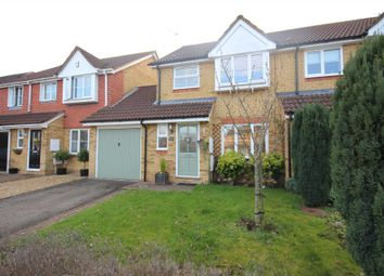 Thumbnail 3 bed semi-detached house for sale in Crockford Place, Binfield, Bracknell