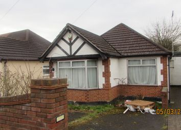 Thumbnail 2 bed bungalow to rent in Woodville Gardens, Ruislip