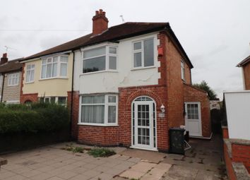 Thumbnail 3 bed semi-detached house for sale in Belvoir Road East, Leicester, Leicestershire
