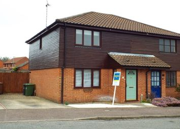 Thumbnail 3 bed semi-detached house to rent in Brick Kiln Road, North Walsham