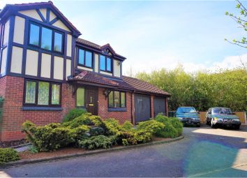 Thumbnail 4 bed detached house for sale in Wye Dale, Church Gresley, Swadlincote
