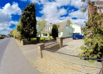 Thumbnail 5 bed detached house for sale in Low Road, Spalding