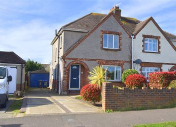 Thumbnail 3 bed semi-detached house for sale in Boundstone Lane, Sompting, Lancing, West Sussex