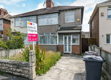 Thumbnail 3 bed semi-detached house for sale in Howden Drive, Huyton, Liverpool
