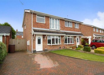 Thumbnail 3 bed semi-detached house for sale in Diamond Close, Biddulph, Stoke-On-Trent
