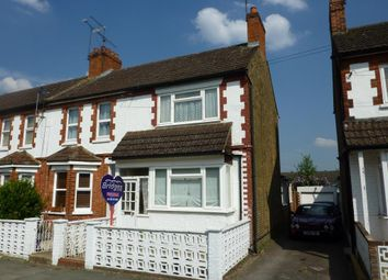 Thumbnail 2 bed end terrace house to rent in Highland Road, Aldershot