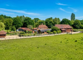 Thumbnail 5 bed barn conversion for sale in School Lane, Pirbright, Woking