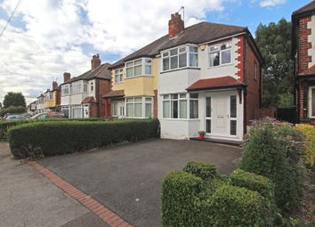 Thumbnail 3 bed semi-detached house for sale in Summerfield Road, Solihull