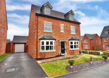 Thumbnail 5 bed detached house for sale in Meadow Way, Tamworth