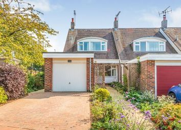 Thumbnail 3 bed end terrace house for sale in Old Mill Drive, Storrington, Pulborough, West Sussex
