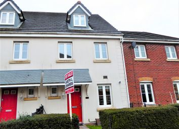 Thumbnail 3 bed town house for sale in Longacres, Brackla, Bridgend