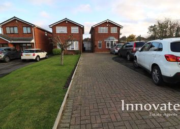 Thumbnail 3 bed detached house for sale in Throne Close, Rowley Regis
